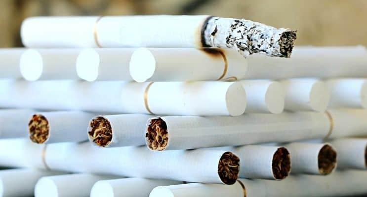 Cigarette stack
