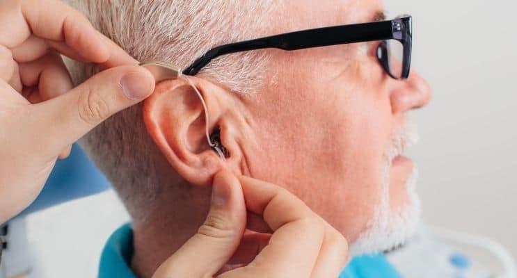Hearing aid installation