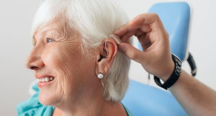 Senior hearing aid