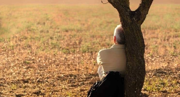 Senior Mindfulness Meditate