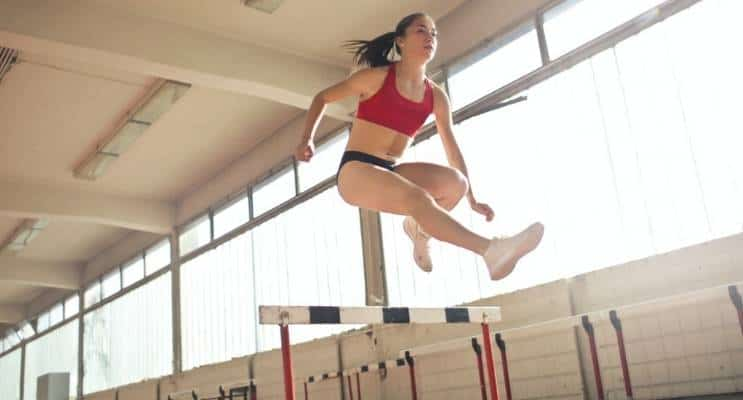 Woman High Jump